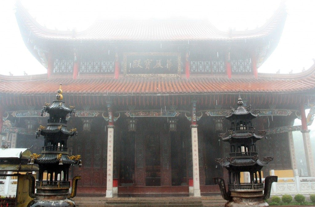 Buddhist temple in Jiuhuasha